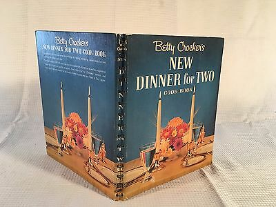 Vintage Betty Crocker Dinner For Two Cookbook First Edition Seventh Printing