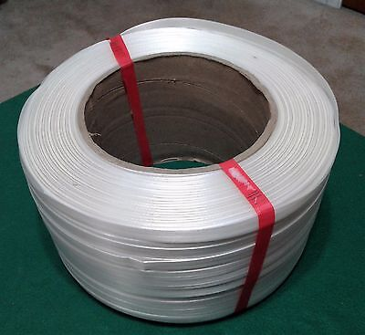 Roll of White Strapping  - 1/2 inch