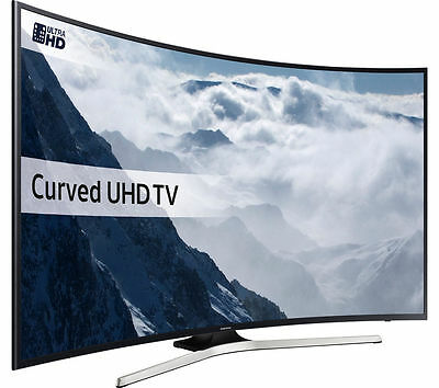 Samsung CURVED 40KU6100 40 Inch Freeview HD  Ultra HD Wi-Fi Smart 4K LED TV.