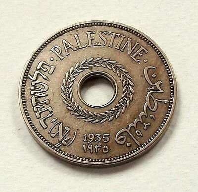 Scarce Palestine 1935 20 Mils Coin - Nice High Grade Coin @ No Reserve