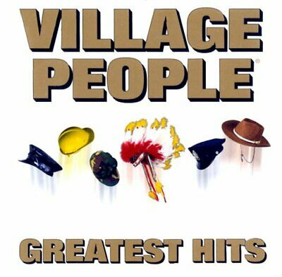 Village People - GREATEST HITS - Village People CD 75VG The Cheap Fast Free Post