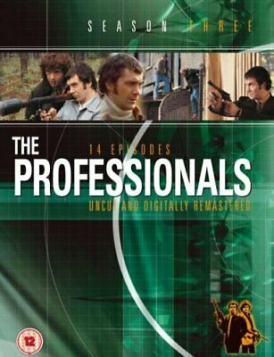 The Professionals: Series 3 [DVD] - DVD  1AVG The Cheap Fast Free Post