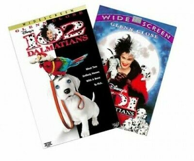 101 & 102 Dalmatians (Double Pack) [DVD] - DVD  BUVG The Cheap Fast Free Post