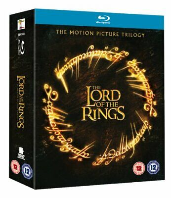 The Lord of the Rings: The Motion Picture Trilogy [Blu-ray] - DVD  J2VG The