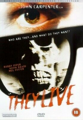 They Live [DVD] [1989] - DVD  2KVG The Cheap Fast Free Post