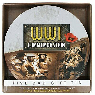 WWI Commemoration Gift Tin [DVD] - DVD  UUVG The Cheap Fast Free Post