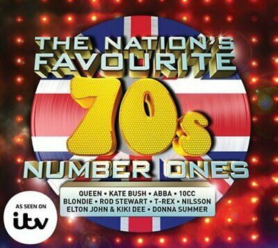 Various Artists - The Nation's Favourite 70s Number... - Various Artists CD OKVG