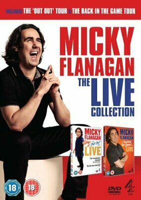 Micky Flanagan: Live Collection [DVD] - DVD  84VG The Cheap Fast Free Post