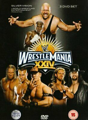 WWE - Wrestlemania 24 [2008] [DVD] - DVD  FYVG The Cheap Fast Free Post