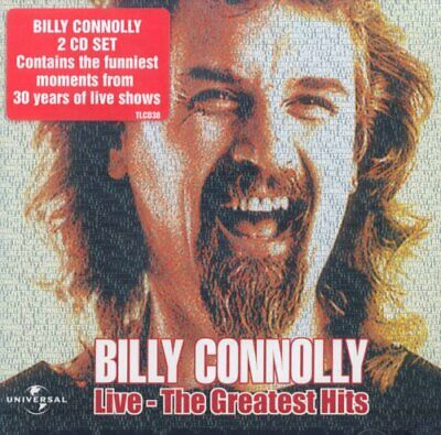 Billy Connolly - Greatest Hits - Billy Connolly CD 26VG The Cheap Fast Free Post