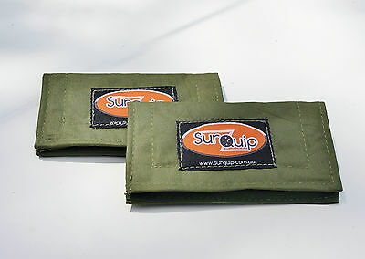 Lure Fishing Wrap Hydrate x 2. Gulp.Australian made with Australian Canvas. Bass