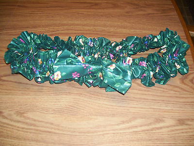 LONGABERGER Extra Large EMERALD VINE Garter With Bow