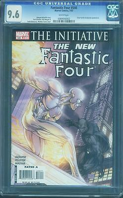 Fantastic Four 546 CGC 9.6 Michael Turner Cover Black Panther Movie