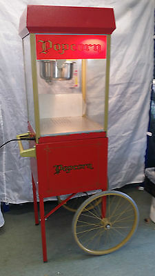 GOLD MEDAL USA 8oz FULL SIZE TOP QUALITY POPCORN MACHINE WITH CART