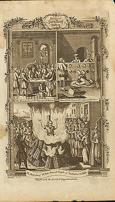 1776. suffering & death in the reign of mary 1st . martyrdom of mr rob samuel
