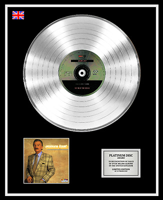 JAMES LAST CD Platinum Disc Record LP THE CLASSIC TOUCH