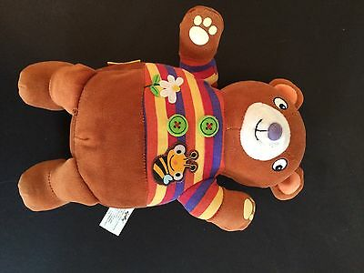 SOFT PLAY PLUSH BEAR RATTLE CRACKLE BABY BOOK TOY  Infant Stuffed