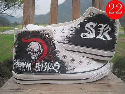 Comics Anime Personal design Hand Painted Canvas Shoes High Top Ankle Sneakers