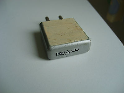 """10Xj""  2306 Khz Crystal For Amateur Radio Transmitters And Receivers,"