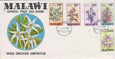 Malawi 1979 Wild Orchids First Day Cover