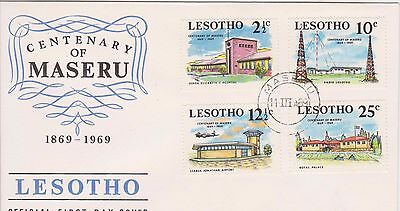 Lesotho 1969 First Day Cover Centenary of Maseru FDC