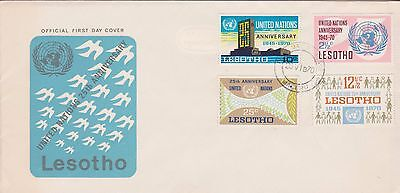Lesotho 1970 First Day Cover 25th Anniversary of United Nations FDC