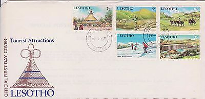 Lesotho 1970 First Day Cover Tourist Attractions FDC