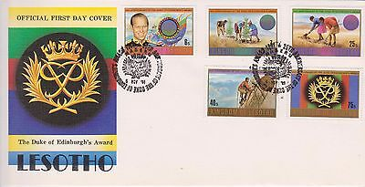 Lesotho 1974 First Day Cover 25th Anniversary of Duke of Edinburgh's Award FDC