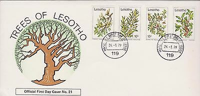 Lesotho 1979 First Day Cover Trees of Lesotho FDC
