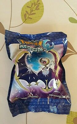 Pokemon Sun and Moon 3DS Pre-Order UK Exclusive Lunala Toy Figure Sealed new