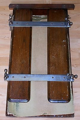 A Vintage Everitts Wooden Trouser Press