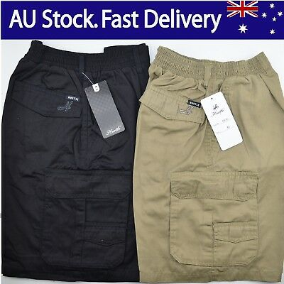 BNWT 6936 Men's Casual Dress Workwear, Work Pants,Cargo Short, Pant, Size S- 4XL