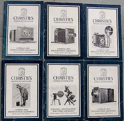 Christies Cameras & Photographic Equipment Catalogues For 1984