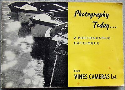 PHOTOGRAPHY TODAY CATALOGUE 1958.  VITO BL, FLEXARET etc