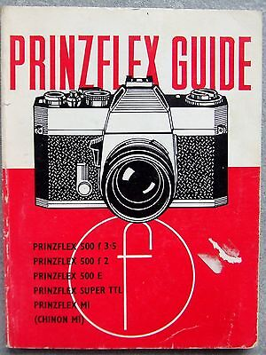 Prinzflex Guide. Focal Press.  1973