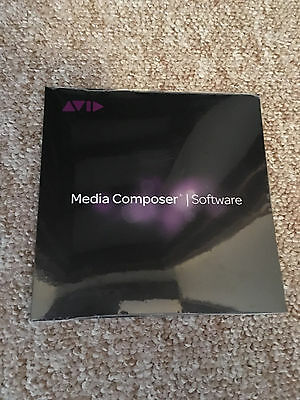 Avid Media Composer 8 Software BNIB New Unregistered 8.7 Ready Perpetual License