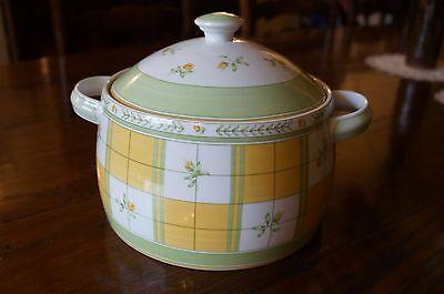 Marks And Spencer Yellow Rose Vegetable Tureen Casserole Dish With Lid