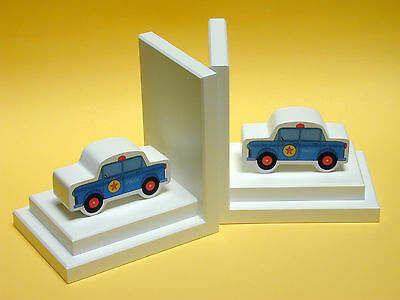 One World Police Car Book Ends Set of 2