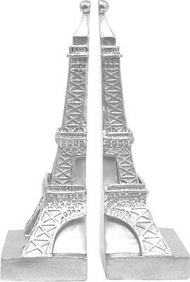 Three Hands Unique Small Eiffel Tower Bookend Set of 2