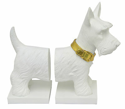 Three Hands Co. Resin Scottie Dog Bookends Set of 2