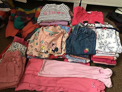 Massive Bundle Girls Clothes Age 6-9 Months To 9-12 months