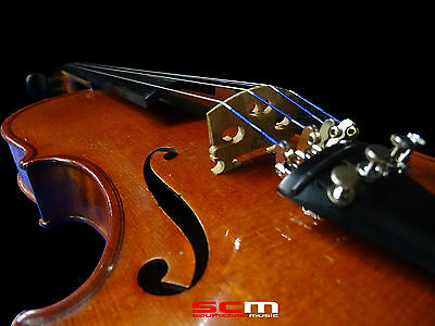 German Made Violin - With Case & Bow - Beautiful Voice, Superb Condition!