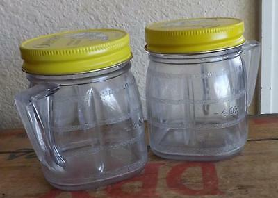 Set of 2 Osterizer Food Jars Mini-Blend Containers