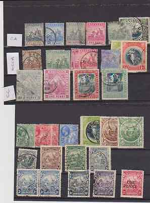Early Used Barbados Stamps