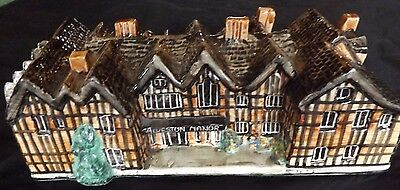 Tey Pottery Britain in Miniature,Large Alveston Manor Handcrafted 8 inch long
