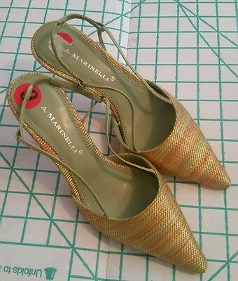 A. MARINELLl  Ladies Dressy Shoes,  size 6 M