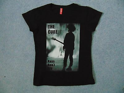 THE CURE – Boys Don't Cry BLACK T-SHIRT – (Very small) Medium