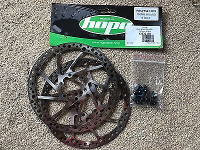 Mountain Bike - Hope Brake Disc Mono Mini M4 160mm 6 Bolt