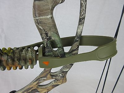 Game Plan Gear Grip Compound Bow Wrist sling strap Olive