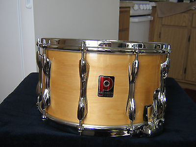 """Premier 8"""" By 14"""" Snare Drum....collector Condition"""